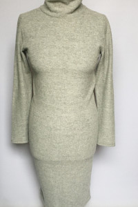 Sukienka Szara Vero Moda M 38 Golf Ołówkowa Elegancka...