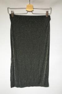Spódniczka Ołówkowa NOWA H&M Srebrna S 36 Czarna...