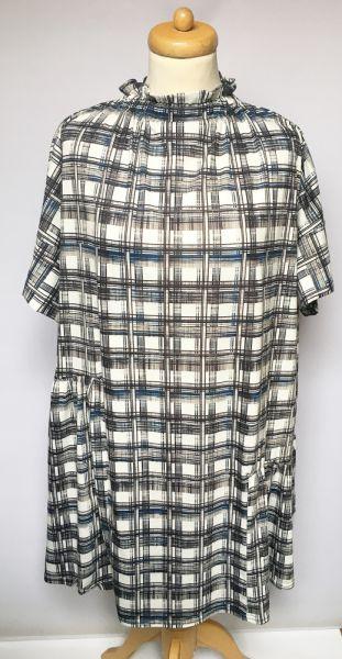 Suknie i sukienki Sukienka Wzory Asos XXXL 46 Oversize Wzorki