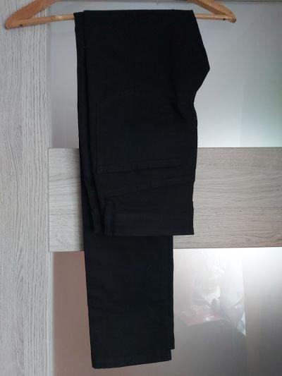 Spodnie Klasyczne czarne rurki