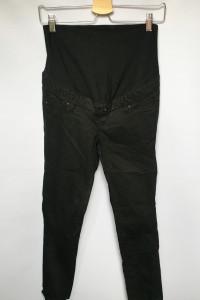 Spodenki Rybaczki H&M Mama 34 Czarne Ciążowe...