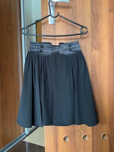 Spódnice Spódnica czarna Mango elegancka spódniczka krótka XS 34