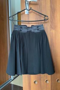 Spódnica czarna Mango elegancka spódniczka krótka XS 34