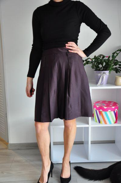 Spódnice Fioletowa spódnica