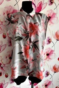 wallis bluzka mgiełka modny wzór kwiaty plisowana hit 40 42...