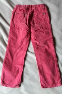 Jeansy dziewczęce spodnie różowe r 98 104...