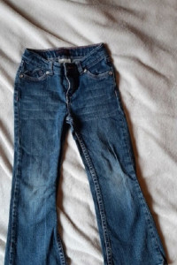 Levis jeansy dziewczęce serduszka 5 lat...