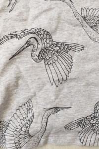 Bluzka H&M Ptaki Czaple Ptak Czapla w locie...