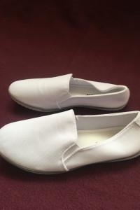 Nowe białe wsuwane trampki tenisówki baleriny balerinki...