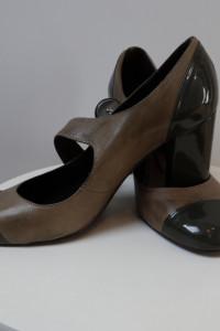 Buty APIA rozmiar 38 skóra naturalna w połączeniu z lakierowaną...
