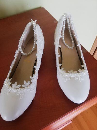 Buty ślubne czulenka ślubne