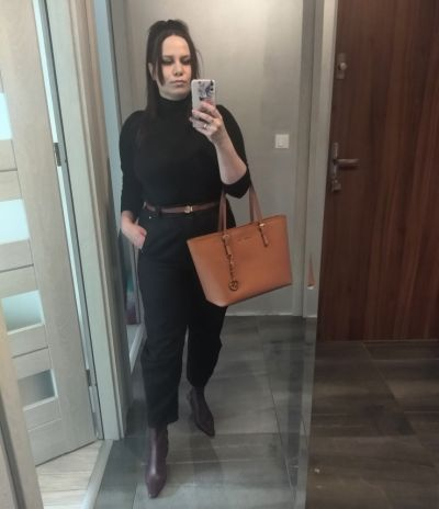 Codzienne Black outfit