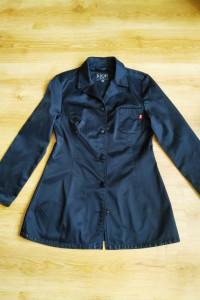 Czarny żakiet marynarka jeans Joop L 40