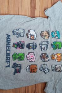 Koszulka Minecraft Nutmeg 9 10 lat
