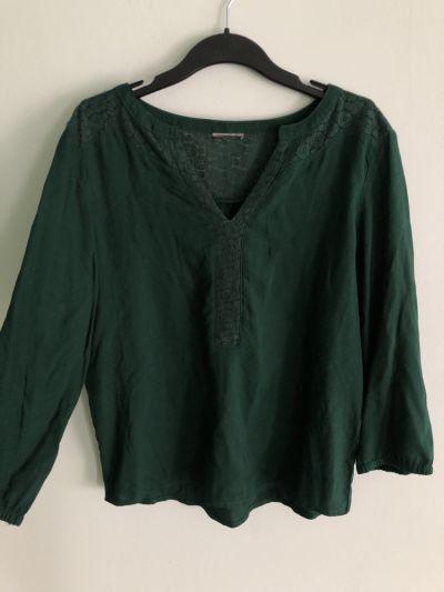 Bluzki Butelkowa zieleń bluzka