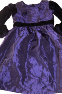 Sukienka z różą błyszcząca 116...