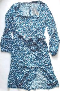 sukienka długi rękaw tunika z długim rękawe