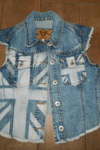 River Island jeansowa kamizelka roz 32...