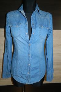Bershka jeansowa koszula roz S...