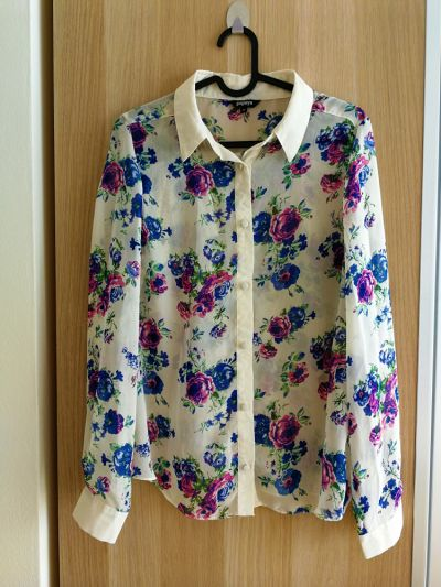 Koszule Koszula w kwiaty rozmiar 40