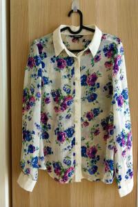 Koszula w kwiaty rozmiar 40