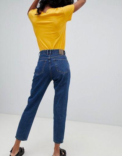 Spodnie ZARA Spodnie jeansowe mom fit