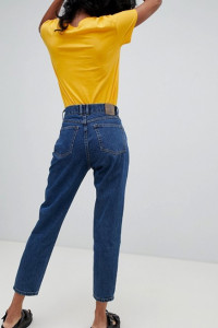 ZARA Spodnie jeansowe mom fit...