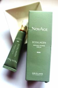 Zestaw NovAge Ecollagen serum i krem pod oczy...