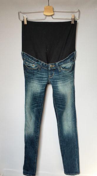 Spodnie Spodnie H&M Mama Slim XS 34 Jeansy Dzinsowe Rurki