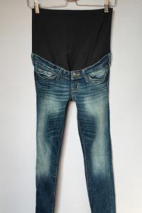 Spodnie H&M Mama Slim XS 34 Jeansy Dzinsowe Rurki...