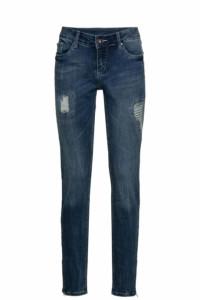 spodnie jeansy ruruki przetarcia