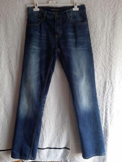 Spodnie Granatowe jeansy SMOG BASICS