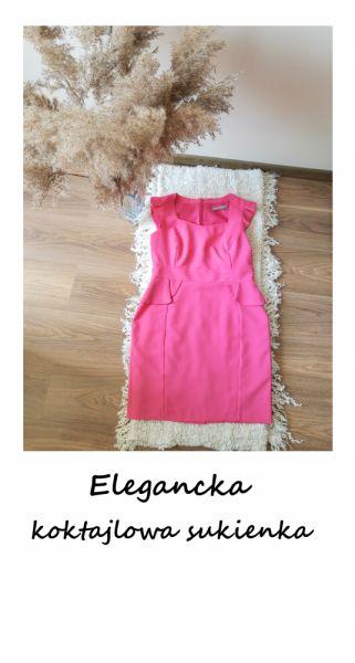 Suknie i sukienki Elegancka zjawiskowa sukienka L XL wesele komunia chrzest impreza