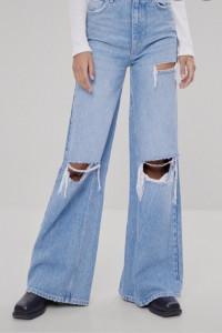 spodnie wide leg...