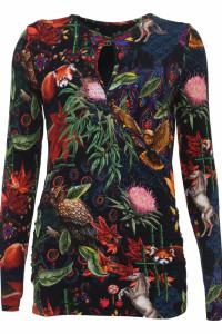 Desigual bluzka 18WWTKYY Gilberta Preta...