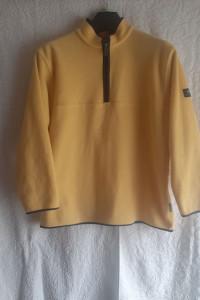 Żółty polar Quechua Decatlon...