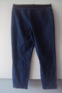 spodnie jeansy z guma