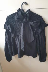 Bawełniana elegancka bluzka zara...