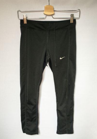 Legginsy Legginsy Sportowe Nike Dri Fit Czarne XS 34 Fitness