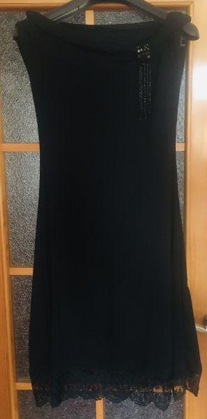 Suknie i sukienki Sukienka wieczorowa dekolt w łódkę koronka