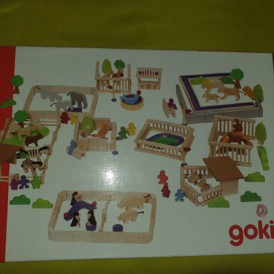 Zabawki Drewniane ZOO Goki zabawka dla dzieci
