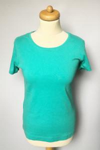 Bluzka Koszula T Shirt H&M Morski Zielony L 40...