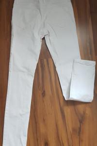 Białe jeansy Skinny spodnie M 38...