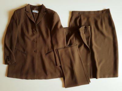 Garsonki i kostiumy GERRY WEBER Garnitur Kostium damski trzyczęściowy XL
