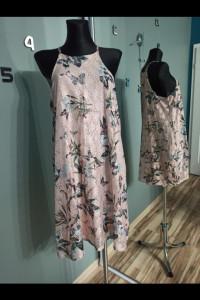 Sukienka Mohito w kwiaty i motyle XL...