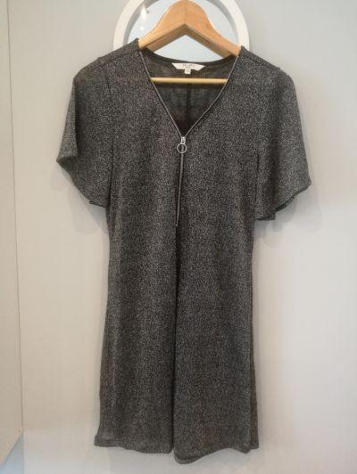 Suknie i sukienki Sukienka czarno srebrna Cellbes rozm 3840