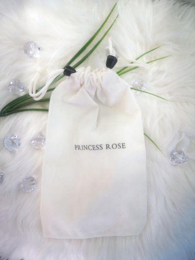 Akcesoria Princess Rose Kosmetyczka etui na pędzle jasny beż
