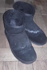 Używane buty zimowe mukluki śniegowce...