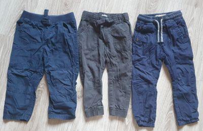 Spodnie i spodenki spodnie chłopięce 3pary