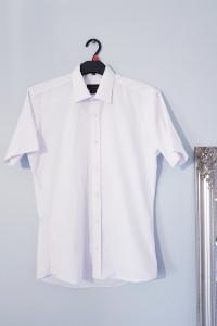 Biała koszula slim...